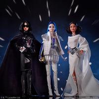 Barbie viaja a los setenta con su nueva colección de muñecas inspirada en la saga Star Wars