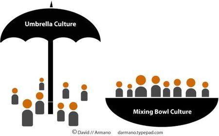 ¿Cómo es la cultura en tu empresa, paraguas o tazón de cereales?