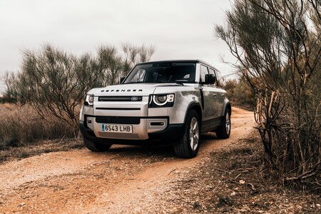 Land Rover Defender 110 Prueba