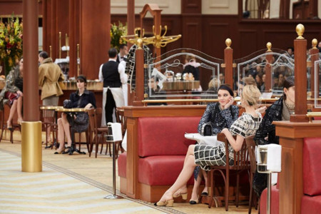 Desfile Chanel Brasserie