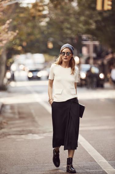 Olivia Palermo se atreve a probar estilos nuevos con Banana Republic (pero sin perder su esencia)