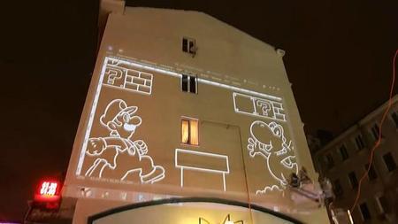 Crean un impresionante mural de Super Mario Bros en Rusia