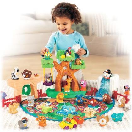 Zoo interactivo de Little People