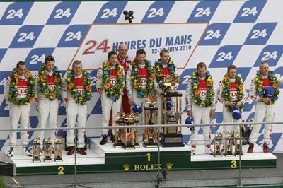 Triplete de Audi en las 24 horas de Le Mans