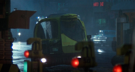 Los coches de Blade Runner