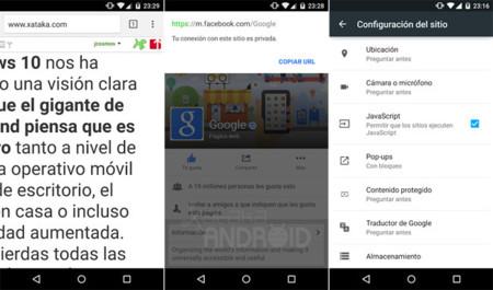 Chrome 40 para Android