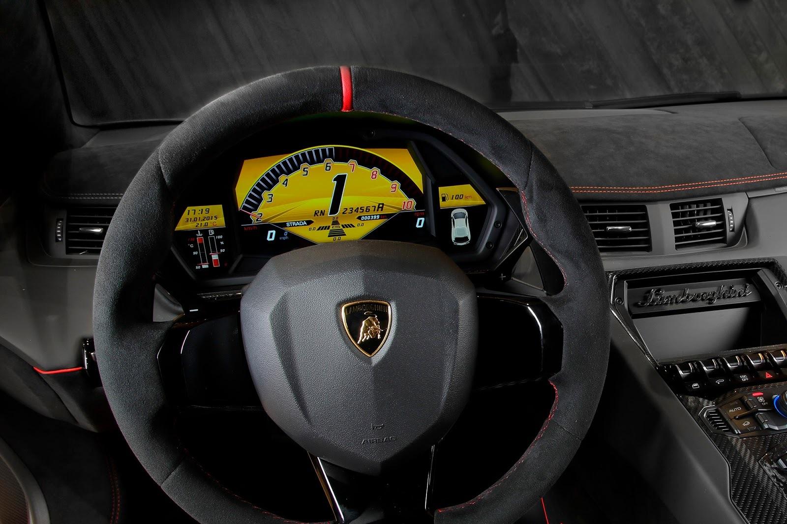 Foto de Lamborghini Aventador SV (16/21)