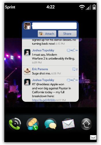 Facebook desarrolla una aplicación muy básica para webOS