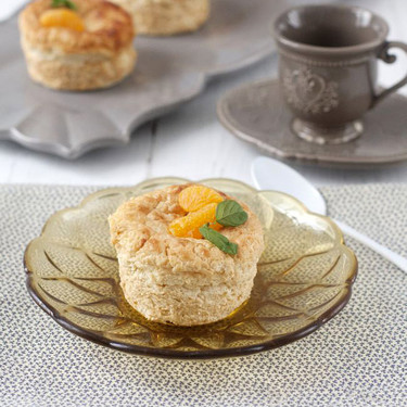 Pastelitos de queso y mandarina, receta para un momento de capricho