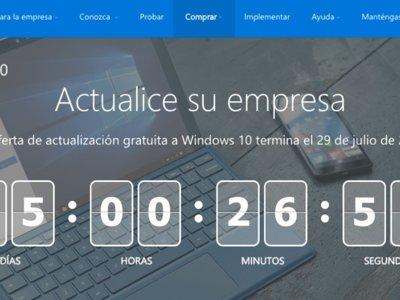 Microsoft te recuerda que quedan pocos días para actualizar gratis a Windows 10