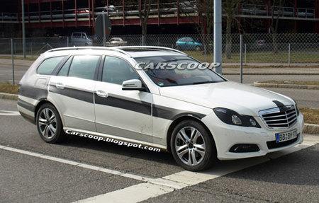 El Mercedes-Benz Clase E Estate espiado casi sin camuflaje