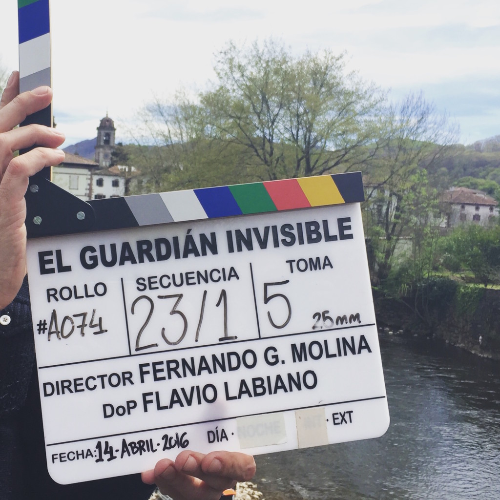 Claqueta El Guardian Invisible