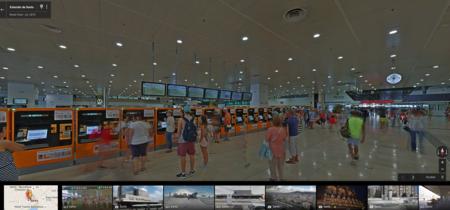 Ya puedes pasearte por estaciones de Renfe con Google Street View
