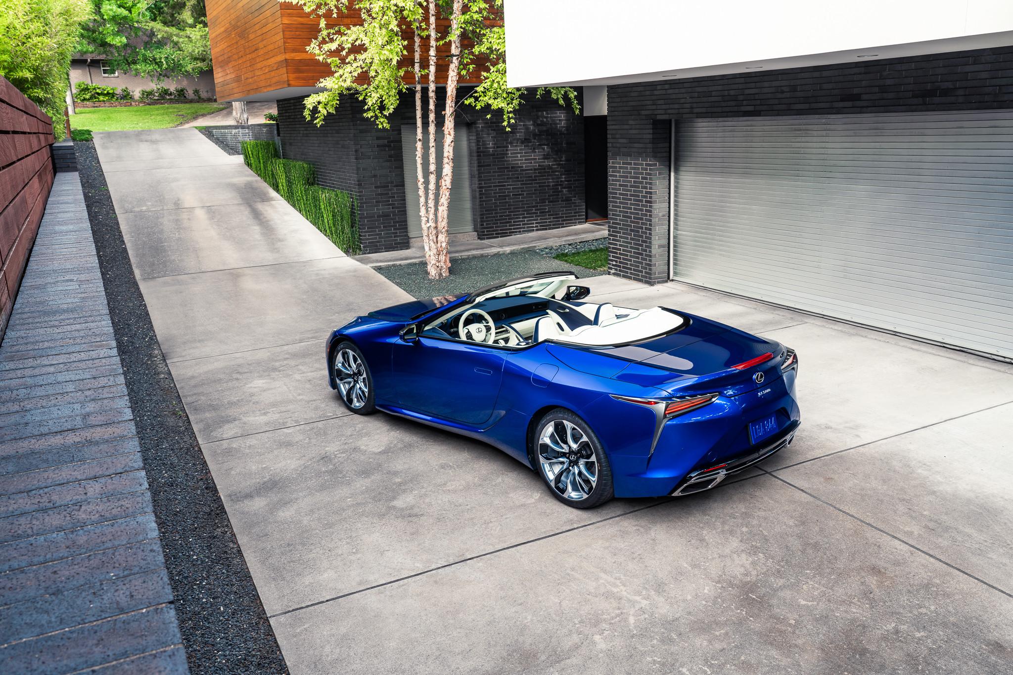 Foto de Lexus LC Cabrio Regatta Edition (30/32)