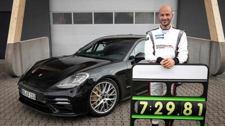 Porsche Panamera Turbo Rompe Record En Nurburgring 1