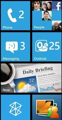 Samsung Omnia 7 con Windows Phone 7