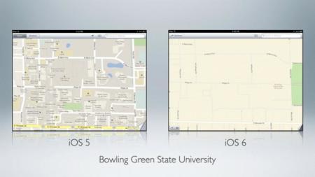 Apple y la realidad disminuida: Los mapas de Apple no dan la talla