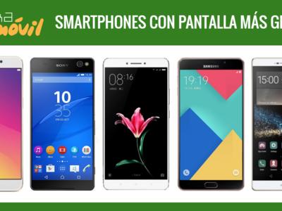 Xiaomi Mi Max frente a otros móviles con enorme pantalla de 6 pulgadas o más