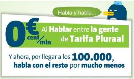 Movistar rebaja su tarifa Pluraal por alcanzar los 100.000 usuarios