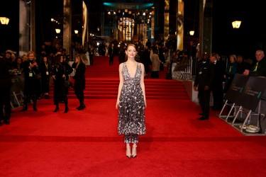 Las mejor vestidas de los Premios BAFTA 2017