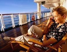 Podrás hablar por el móvil desde el crucero