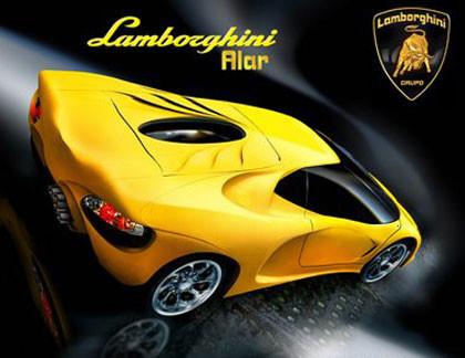 Lamborghini Alar 777, imágenes oficiales