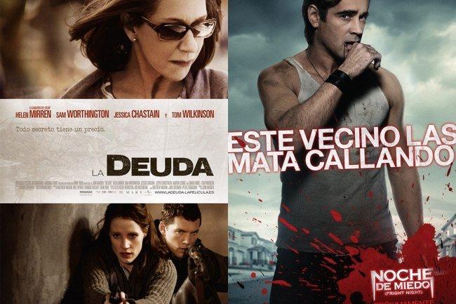 la-deuda-the-debt-noche-de-miedo-fright-night-posters