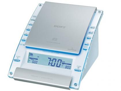 Sony ICF-CD7000, reloj despertador con CD