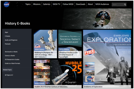 E Books Nasa