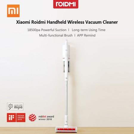 Roidmi Handheld Wireless Vacuum Cleaner, la Dyson de Xiaomi, por 310 euros y envío gratis desde España