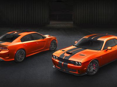Los Dodge Challenger y Charger SRT en Mango Orange, ¿demasiado cantosos para Europa?