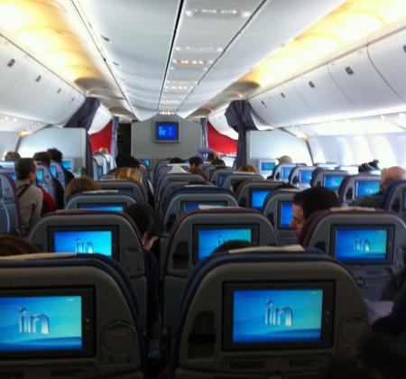 Cómo matar el tiempo en un vuelo trasatlántico