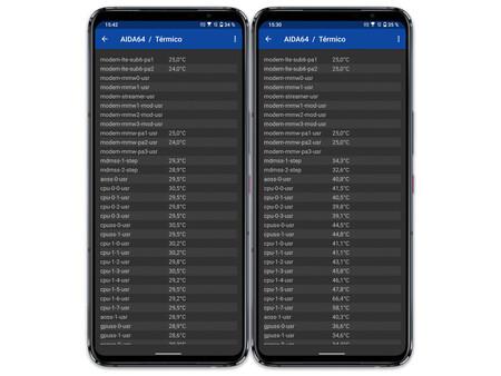 Asus Rog Phone 5 05 Temperatura Sin Con Youtube