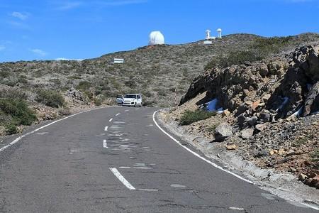 La Palma Garafia Carretera Acceso Observatorios Roque De Los Muchachos Observatory 02 Ies 1