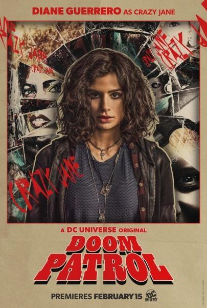 Doom Patrol Poster Crazy Jane 405x600