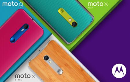 Toda la información de los nuevos móviles de Motorola: Moto X Style, Moto X Play y Moto G (2015)