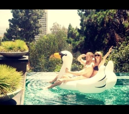Taylor Swift y Calvin Harris: más ganas de verano aún