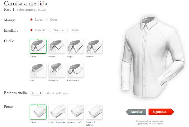 Tailor4less Dise A Completamente A Medida Y Compra Tu
