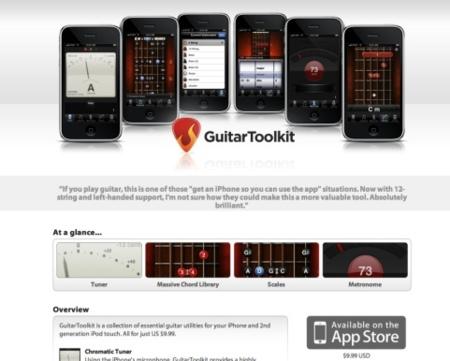 Cinco claves para diseñar una buena web sobre tu aplicación para el iPhone OS