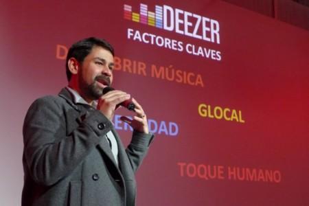 """""""Trabajamos en un nuevo modelo donde cobramos poco de muchos"""", Leo Nascimento, de Deezer"""