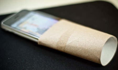 Imagen de la semana: aumenta el volumen de tu iPhone con un amplificador pasivo