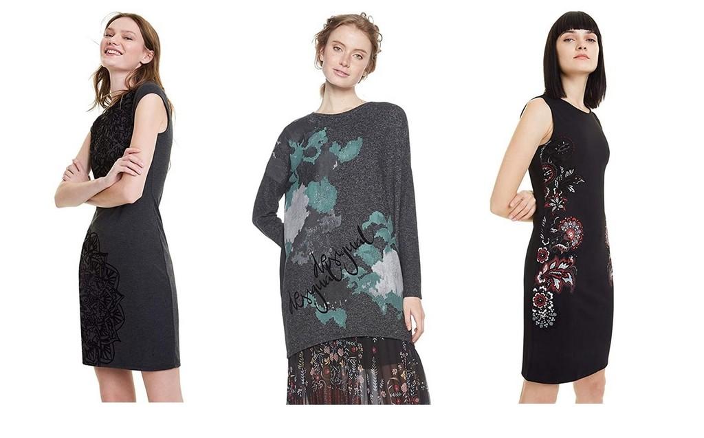 9 ofertas en tallas sueltas de vestidos, camisetas y suéteres  Desigual disponibles en Amazon por menos de 25 euros