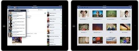 Facebook lanza por fin su aplicación para iPad con todas las novedades