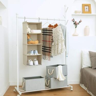 11 ideas originales para organizar mejor las prendas en el armario