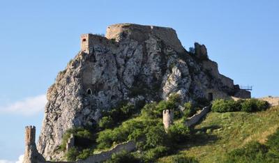 El castillo de Devin en Eslovaquia