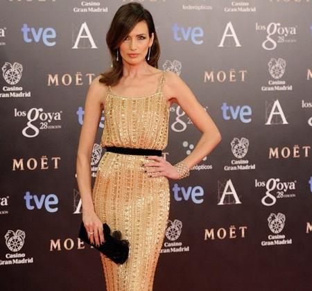 Nieves Álvarez deslumbró en la Gala de los Goya con un Ralph & Russo Couture