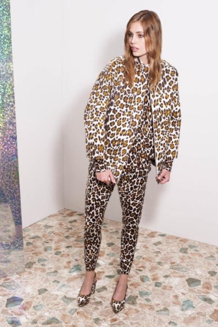 El total look de leopardo: no apto para todos los públicos