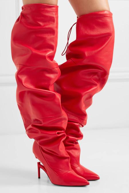 Botas Rojas Mujer 04