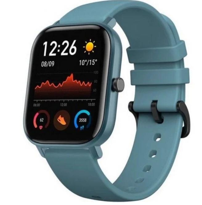 Amazfit GTS Reloj Smartwatch Steel Blue