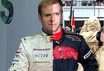 Barrichello, Vettel y el efecto Mónaco